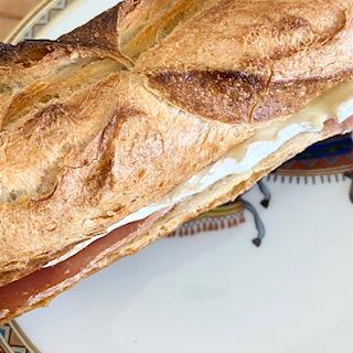 Jambon de bayonne brie de meaux